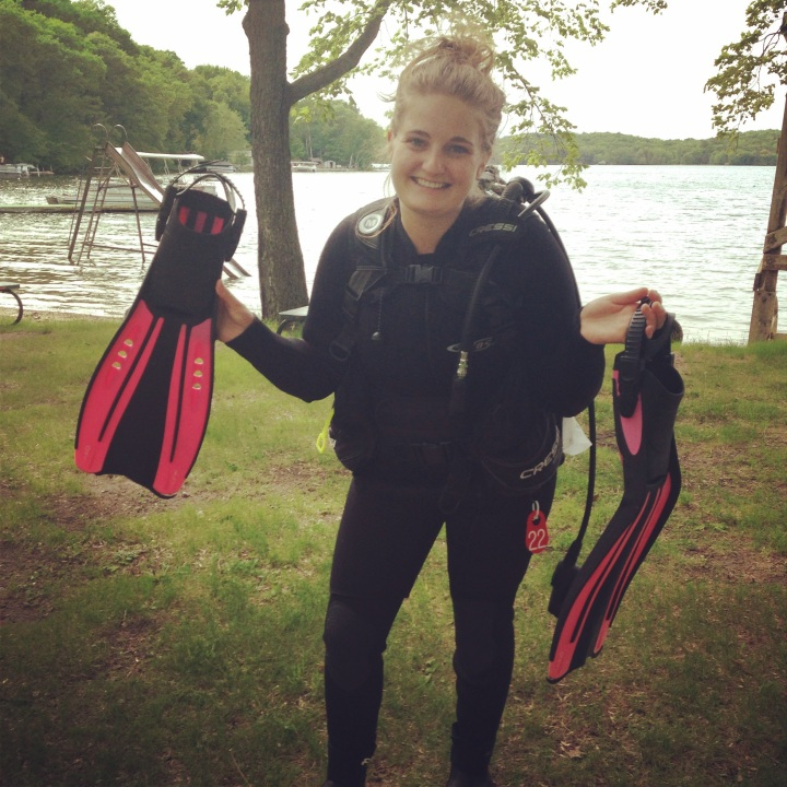 Earning PADI Scuba Certification