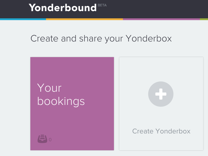 A New Way to Plan Travel:YONDERBOUND!