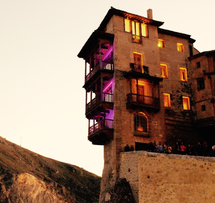 Houses Hanging Off a Cliff | Cuenca, Spain