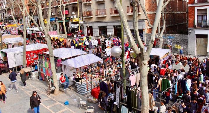 The Flea Market of Madrid | ELRASTRO