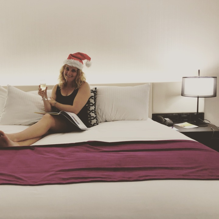 Christmas at the Swanston Hotel in Melbourne